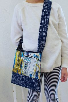 Star Wars and Polka Dot Patchworked Kids Little by DixieBloom