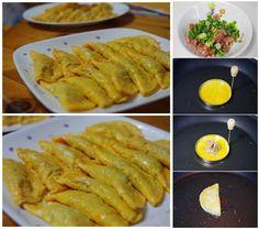 Fried egg dumpling -- easy cooking idea