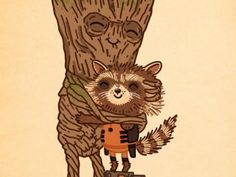 The Cutest Poster For Guardians of the Galaxy Yet