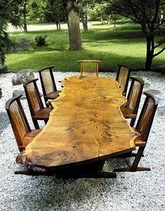 George Nakashima Dining