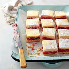 """Raspberry """"Rhubars"""" - Best-Loved Cookie Recipes and Bar Recipes - Southern Living"""