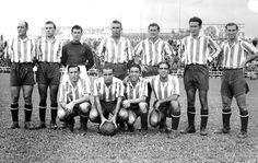 Equipos de fútbol: GRANADA contra Celta de Vigo 28/09/1941