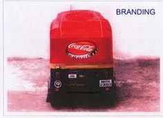 Advertisement on Jaipur Auto Rickshaw