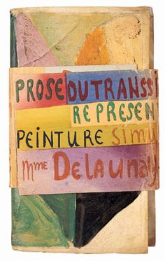 by Blaise Cendrars and Sonia Delaunay-Terk, 1913