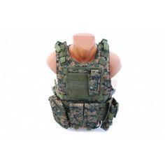 8Fields vesta tactica AAV FSBE Digital Woodland - Veste Tactice - Articole Vestimentare - Echipament Tactic