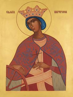 Catherine the Greatmartyr Whispers of an Immortalist: Icons of Martyrs 2 Religious Tolerance, Religious Paintings, Religious Icons, Orthodox Icons, Christianity, Saints, Religion, Images, Disney Princess