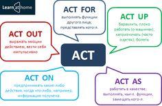 Phrasal verb ACT #Phrasalverbs #Englishgrammar