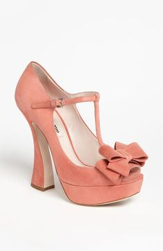 Miu Miu T-Strap Pump | #Nordstrom #falltrends #shoes