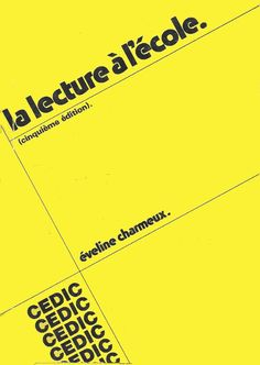 Charmeux, La Lecture à l'École (1975)