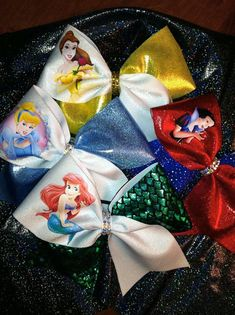 Hey, I found this really awesome Etsy listing at https://www.etsy.com/listing/220077489/princess-inspired-cheer-bow