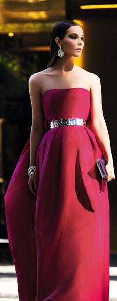 Alexander McQueen Elegant Gown  #Red