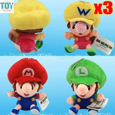 Find More Movies & TV Information about New 3 PCS Super Mario Bros BB Mario Luigi Wario Keychain Mini Soft Stuffed Plush Doll Anime Kids Toys Approx 14cm,High Quality keychain ball,China keychain purse Suppliers, Cheap doll necklace from Toys in the Kingdom on Aliexpress.com