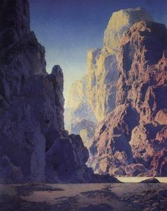 Maxfield Parrish Paintings and Illustrations | Fine Art and Painting ...