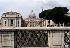 Rom, Ponte Vittorio Emanuele, Blick auf Via della Concilia… | Flickr