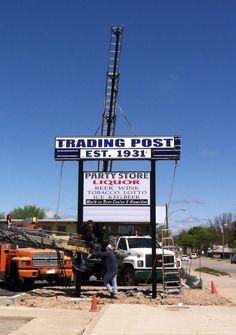 Trading Post Standish Mi working on install