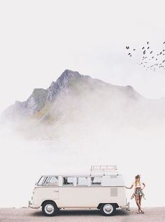 Mountain | Camper Van | Road Trip | Mountain | Explore | Adventure | Wanderlust | Inspiration Board| Vision Board | Goals | Happiness