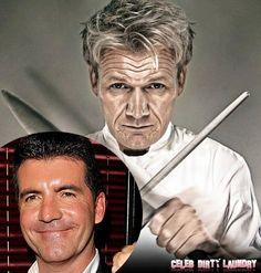 Simon Cowell Bites into Gordon Ramsay's Empire
