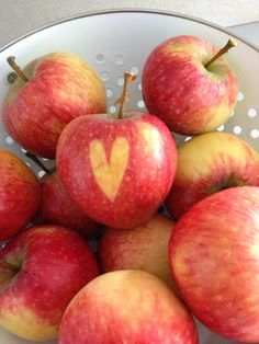 Wohnbrise: Apfel, Herz
