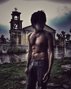 Sometimes faith is not enough.  #streetfashion #menswear #mensfashion #MensHairstyle #HairStyle #hairstyles #htgawm #beachlover #nature #craft #artistry #artwork #art #GameOfThrones #TeenWolf #TheWalkingDead #beard #blackandwhite #selfie  #fashion #church #love #islander #photograph #photography #hair #rippedjeans  #rain