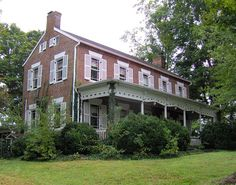 """Wheatlands was an antebellum plantation in Sevier County, in the U.S. state of Tennessee. The plantation's surviving structures— which include the plantation house, a storage shed, and smokehouse— have been placed on the National Register of Historic Places. The plantation house has been called """"the best example of a Federal-style building remaining in Sevier County."""