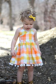 LLK Lexington Pattern- 12 months to 14 years Kids Frocks, Frocks For Girls, Little Girl Dresses, Girls Dresses Sewing, Kids Clothing Rack, Sewing Kids Clothes, Baby Girl Dress Patterns, Baby Dress, Toddler Fashion