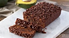 Avocado Chocolate Bread (Gluten and Grain-Free, Dairy-Free, Paleo)