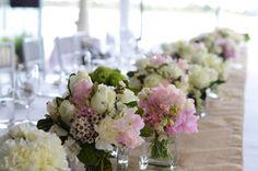 Floral arrangements on the tables #thepointalbertpark #wedding #floralarrangement #flowers #tablesetting #centrepiece #brideandgroom #weddinginspo #weddingideas #weddingvenue #melbournevenues #melbournefunctions #melbournewedding