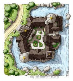 Another traditional map using and It continues some of the tales of the Vastlands east of the Thymevald found in . Grand Hall of NodNaiv Fantasy Map Making, Fantasy City Map, Fantasy Castle, Fantasy Places, Fantasy Rpg, Medieval Fantasy, Fantasy World, Fantasy Town, Rpg Map