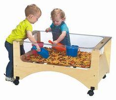 Toddler Height See=Thru Sensory Table