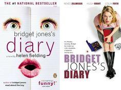 11 Classic Love Stories With Movies as Good as the Book Colin Firth Bridget Jones, Buzzfeed Movies, Jilly Cooper, Helen Fielding, Love Story Movie, Good Romance Books, Salman Rushdie, Hugh Grant, Renee Zellweger
