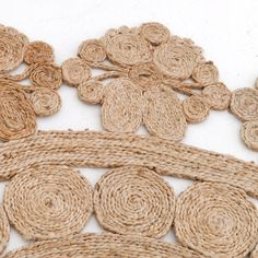 5' round handwoven jute rug | world market | fique | pinterest
