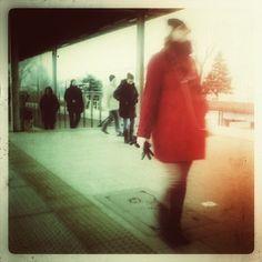 #skm #Gdynia #kolejka #czerwony #cross #Green #igersgdansk #mobilnytydzien #trojmiasto