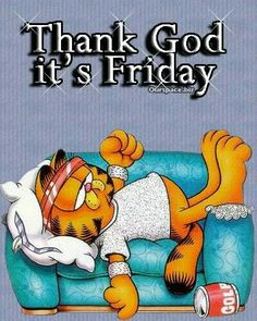 TGIF quotes quote garfield friday happy friday tgif days of the week friday quotes friday love happy friday quotes Garfield Pictures, Garfield Quotes, Garfield Cartoon, Garfield And Odie, Garfield Comics, Tgif Pictures, Sports Pictures, Tgif Quotes, Weekend Quotes