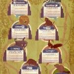 The Social Media zoo - an Original Infographic from PRWeb