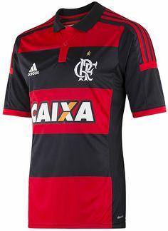 Flamengo tem nova camisa para o Brasileirão - Coleção de Camisas.com c9483110c7d91