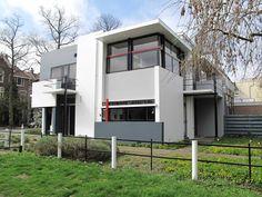 Schröder House, Gerrit Rietveld, 1924, Utrecht, The Netherlands
