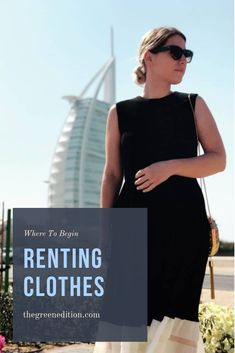 So you have a big event coming up and don't want to buy new? Or you fancy a change of clothes? Try renting from some of these websites instead of buying new all the time! Fashion Moda, Fast Fashion, Slow Fashion, Ethical Fashion, Fashion Brands, Womens Fashion, Fashion Tips, Rent Clothes, America Outfit