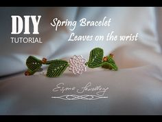"BRACELET MACRAME  ""Aurora ""  -   Diy tutorial - How to make an elegant bracelet - YouTube"