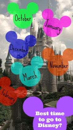 Trying to decide when to go on the most MAGICAL vacation ever?  Check out these tips on when is the BEST time to visit #DisneyWorld  @serendipitynsp
