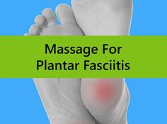 Massage for Plantar Fasciitis - does it actually work? The key is to not only massage the Plantar Fascia, but all muscles in the posterior chain of the leg.