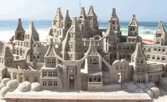 """So let's have a look on our today's post """"30+ Perfectly Assembled Sand Castles"""" and feel free to post your comments. Thanks."""