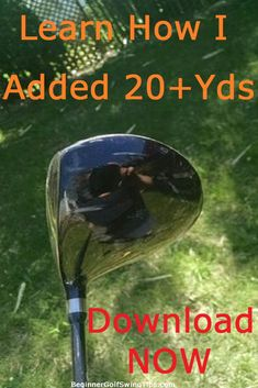 Golf Tips For Beginners Find out how I added over 20 yards to my golf drives each and every time. Get better with your driver with my golf driving tips. How To Better Yourself, Improve Yourself, Golf Club Reviews, Golf Now, Driving Tips, Golf Tips For Beginners, Golf Lessons, Play Golf, Free Ebooks