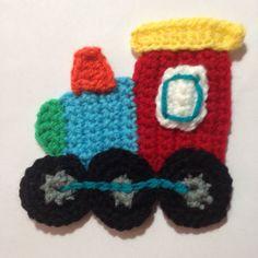 Crochet a Cute Train Applique for your Kid                                                                                                                                                      More