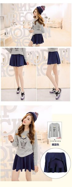 1940d5fb1c Summer Style Korean Version Skirts Safty Mini Skirt Women's Spring and  Summer Solid High Waist Pleated All Match Short Skirt