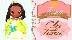 Tiana Princess and the Frog Chibi   Polymer Clay Tutorial