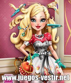 #applewhite  será la próxima #reina y quiere otro #peinado    #juegosdevestir   #juegosdepeluqueria    http://www.juegos-vestir.net/jugar/peinado-de-apple-white