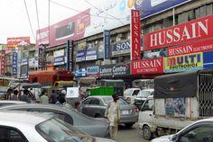 'Electronics quarter' of Lahore