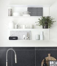 #Ikea #BOTKYRKA shelves.
