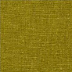 European 100% Washed Linen Apple Green