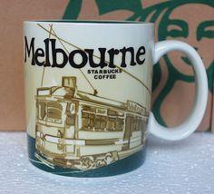 16oz Starbucks Coffee Mug Global Icon City Melbourne Collector Series Mugs